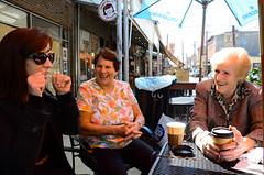 "Coffee Break on the ""Agnes Browne"" Set"