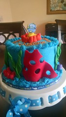 Finding Nemo Dory Cake (9) (Nola Party Boutique) Tags: cake finding nemo dora nolapartyboutique