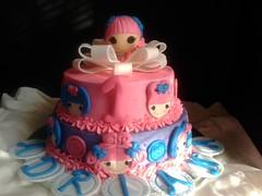 Lalaloopsy cake by Lourdes, Camden County, NJ, www.birthdaycakes4free.com