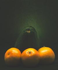 Still-Life-(tangerines-&-avocado) (aherre1677) Tags: life lighting stilllife food orange color green art nature frutas fruits fruit canon studio photo colorful comida foodporn 5d canon5d oranges dslr stilllifephotography