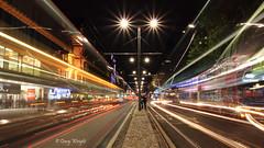 20 Seconds on Princes Street (Eastern Davy) Tags: canon lights scotland edinburgh traffic princesstreet sigma lighttrails 18200 citycentre 600d cityofedinburgh