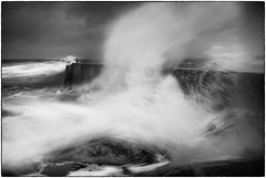 Force 5  no2 (stejo) Tags: storm pier wind wave windy balticsea gale östersjön vind landsort stockholmarchipelago våg kuling blåsigt vågbrytare öja ilobsterit