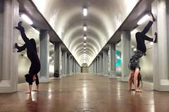 Balance (ashleydiener) Tags: chicago train cta publictransportation theel thel chicagotransitauthority