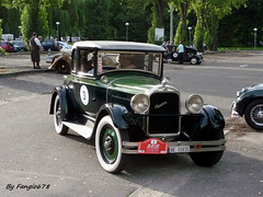 Studebaker Commander Big Six 1927 (fangio678) Tags: classic cars big voiture collection coche oldtimer 28 studebaker raid six commander 08 ancienne 1927 2014 youngtimer americaine voituresanciennes suisseparis