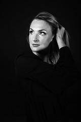 Studio Portrait (guido.masi) Tags: portrait blackandwhite beauty female canon studio eos florence donna firenze ritratto biancoenero visiva 550d guidomasi httpswwwfacebookcomvisivafirenze