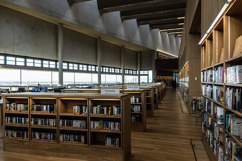 New Public Library In Dun Laoghaire, Officially Called DLR Lexicon Opened To The Public Today And It Is Worth Visiting Ref-100550
