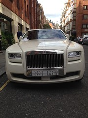 A Saudi RR in Knightsbridge.