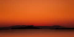 Sunset Crete (Konstantinos Siskos) Tags: sunset sea summer sky beautiful night lights view greece crete cosmos