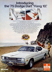 "1975 Dodge Dart ""Hang 10"" (Tom Simpson) Tags: beach car vintage advertising classiccar surfer ad surfing advertisement surfboard 1975 dodge dodgedart vintageadvertising vintagead hang10 vintageadvertisement 1975dodgedart 1975dodge"