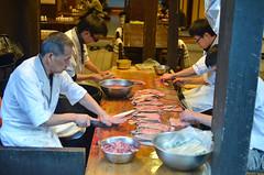 Fish preparation (malinowy) Tags: winter japan 35mm nikon nippon nikkor zima narita naritasan honshu japonia malinowy d7000 shinshōji malinowynet