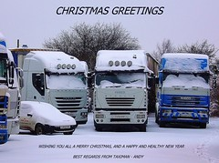 CHRISTMAS GREETINGS (Andy - TAXIMAN) Tags: