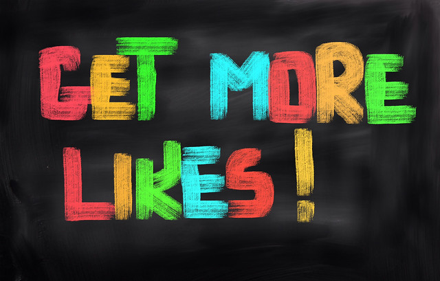 Get More Likes Concept