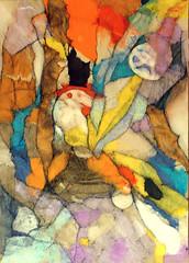 Homenaje a Cuneo (Marvillas) Tags: original abstract art painting colours arte mixedmedia shapes colores creation formas abstracto pintura mixta creacin