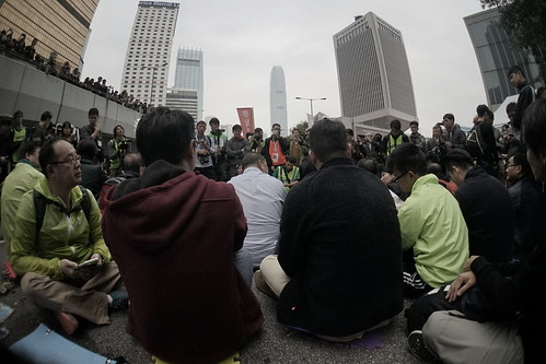 Admiralty, HK, Occupy Hongkong 12-12-2014  #occupycentral #occupyhongkong #umhk #hongkong #hk #sgig #igsg