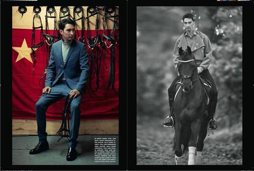 Vogue Uomo Italia December 2014