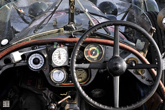 Sunbeam Supersport 1930 dashboard cockpit (c) 2015 Bernhard Egger :: eu-moto images | pure passion 5132