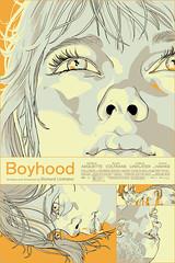 Boyhood by Tomer Hanuka (2014) DVD Variant (arizonacat) Tags: film austin texas ethan coltrane patricia tomer mondo hawke richardlinklater arquette ellar hunuka