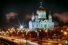 Cathedral of Christ the Saviour (alexrgb5) Tags: christmas building church architecture canon long exposure cathedral russia moscow 7d hdr