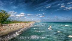 ocean sea beach coast seaside florida shore... (Photo: Daniel Piraino on Flickr)