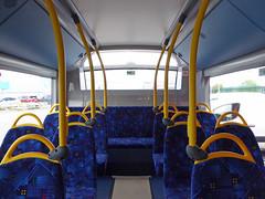 GAL SE291 - YX16OCW - INTERIOR - BV BUS GARAGE - FRI 29TH APR 2016 C (Bexleybus) Tags: bus london ahead interior garage go 200 belvedere dennis mmc bv enviro adl goahead se291 yx16ocw