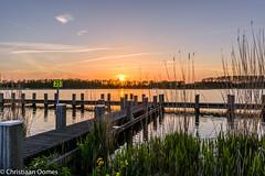 Zonsondergang Rottemeren, Zevenhuizen.jpg (christiaan.oomes) Tags: zonsondergang nederland hdr zevenhuizen zuidholland steiger 2016 rottemeren