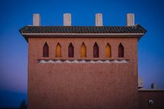 Good Night and Good Luck (Tom Levold (www.levold.de/photosphere)) Tags: sky facade evening abend fuji himmel morocco ouarzazate marokko fassade xt1 fujixt1