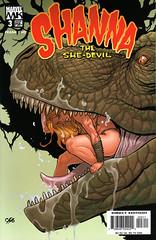 Shanna the She-Devil 3 (FranMoff) Tags: mouth dinosaur comicbooks cho trex shanna shedevil frankcho junglewomen junglegirls