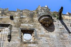 Blason des Langues des Chevaliers de Saint Jean - Rhodes (yann.dimauro) Tags: gr rodos grce egeo