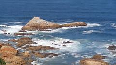 Knysna Heads (Rckr88) Tags: ocean africa travel sea nature water southafrica outdoors coast waves south coastal coastline gardenroute knysna westerncape rockycoastline knysnaheads