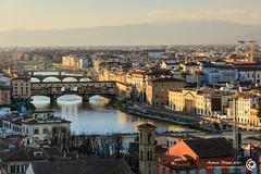 Arno e ponti, Firenze (filippi antonio) Tags: city bridge italy panorama river landscape florence italia cityscape fiume panoramic tuscany vista firenze arno toscana veduta hdr paesaggio pontevecchio citt ponti paesaggiourbano