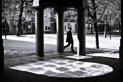 10:33 a.m. (Per sterlund) Tags: street shadow walking noiretblanc sweden stockholm sdermalm schweden streetphotography sverige suecia sude 2016 svartvitt photographiederue gatufoto fotografadecalle fotografiadistrada strasenfotografie fatbursbrunnsgata