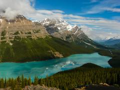 Banff National Park: Peyto Lake (gabri_micha) Tags: canada banff kanada banffnationalpark peytolake