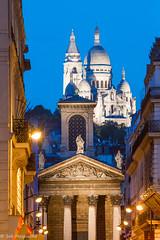 Sacr coeur, Paris (sebastien.mespoulhe) Tags: paris sacrcoeur bluehour heurebleue