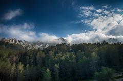 Nuvols sobre la Serra de Brnia (Miquel Gomis) Tags: espaa mountain landscape spain pentax paisaje sierra alicante es serra montaa hdr exteriores bernia alacant comunidadvalenciana benissa da1224mm pentaxart k5iis