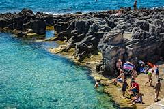 Seascape - Italy (fabioseda) Tags: ocean sea people seascape sol praia beach mar italia waves natureza paisagem puglia sul 500px marinaserra