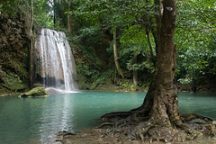 Erawan National Park (piper969) Tags: parco water forest thailand waterfall acqua thailandia erawan foresta cascata naturalpark parconaturale