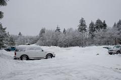 snowed in (brianficker) Tags: usa snow car wv skiresort westvirginia snowshoemountain