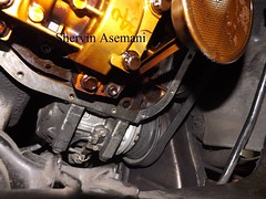 Mastermanship 4 by Shervin Asemani (60) (SheRviNRRR) Tags: melted piece oil pan gasket lower portion engine block