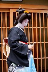 (nobuflickr) Tags: japan kyoto maiko geiko   korin  erikae    miyagawachou   20160609dsc02390