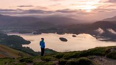 Catt Bells/Derwent Water Sunrise - Lake Disrict (mat0tam20) Tags: lake landscapes spring fuji district cumbria 16mm xt1