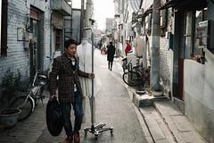 Hutong (Ruikexi) Tags: people man sony beijing hutong qianmen a7r2
