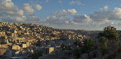 North Amman (Yazan_) Tags: old city sunset buildings landscape big amman slum crowded slums 3ajga