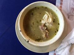 """Panama City: soupe de poulet en entrée <a style=""""margin-left:10px; font-size:0.8em;"""" href=""""http://www.flickr.com/photos/127723101@N04/27300302136/"""" target=""""_blank"""">@flickr</a>"""