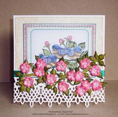 Birds & Bloom Card _1 (Nupur Creatives) Tags: heartfelt creations heartfeltcreations
