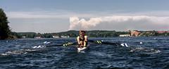 International 57th Rowing Regatta in Ratzeburg #2 (Schneggart) Tags: bridge lake water sport team starter international rowing regatta scull 57th ruder ratzeburg kchensee oarsmanship startbrcke