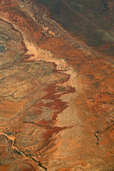 2016_06_02_lax-ewr_504 (dsearls) Tags: river utah flying desert aviation united country canyon aerial erosion rivers geology ual canyons arid aerialphotography jurassic stratigraphy unitedairlines windowseat windowshot weathering 20160602