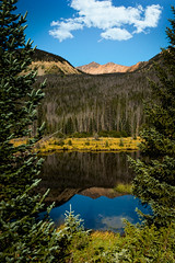 Reflected Beauty (Eric Gail: AdventuresInFineArtPhotography) Tags: ericgail 21studios canon canon70d 70d explore interesting interestingness photoshop lightroom nik software landscape nature infocus adjust photo photographer cs6 topazlabs picture colorado rocky mountains reflection river