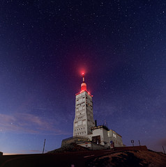 under the stars (Ludo_M) Tags: longexposure trip travel sky mountain france night montagne canon pose landscape eos star noche europa europe nightscape nightshot nacht dusk sigma paca mount provence crpuscule nuit southoffrance mont notte vaucluse 6d ventoux sommet montventoux poselongue canoneos6d 20mmf14dghsm|art015 sigma20mmf14dghsm|art015