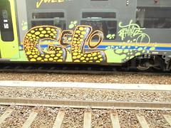 006 (en-ri) Tags: gelo train writing torino graffiti giallo crew nero reptiles bolle