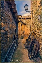 Calle de Rfales (Por ESTEBAN ALEJANDRO) Tags: street old town spain village stones pueblo aragon teruel rafales